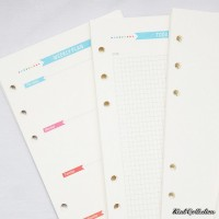 PROMO Festive Loose Leaf Binder Paper A6 / Isi Ulang Binder Kertas A6