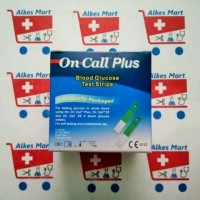 Test Strips On Call Plus Glucose (25Strips)