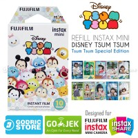 Fujifilm Refill Instax Mini Film Disney Tsum Tsum - 10 Lembar