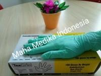 sarung tangan nitril texgrip free powder glove nitril handscoon texgr