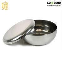 Korean Rice Bowl   Mangkuk Stainless Korea Serbaguna