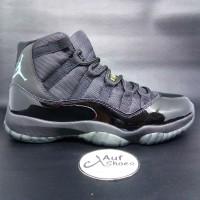 Nike Air Jordan 11 Retro Gamma Blue Hitam
