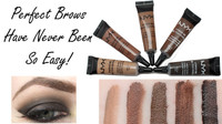 NYX EYEBROW GEL CHOCOLATE Promo Heboh