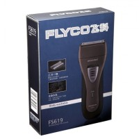 Original FLYCO FS619 Premium Dual Blade Washable Shaver