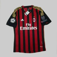 JERSEY AC MILAN HOME 13/14 + PATCH UCL