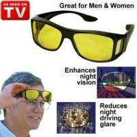 Kaca Mata HD Vision ( 1 Box isi 2) Anti Silau Kacamata Siang dan Malam