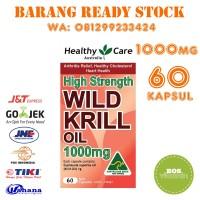 Healthy Care High Strength Wild Krill Oil 1000 mg 60 Kapsul