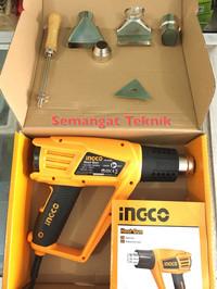 HG20008 HEAT GUN HOT AIR GUN PEMANAS ANGIN INGCO HG 20008