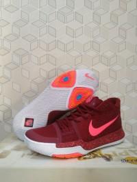 [FREE SHOES BAG]Sepatu Basket Kyrie 3 Red Team Hot Punch / Nike/Kobe