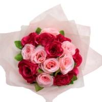 Bunga Buket Asli Mawar