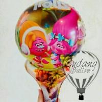 Balon Pentung Trolls / Balon Souvenir / Balon Foil