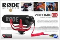 SALE !! Original Rode Video Mic GO / Videomic Go Micophone
