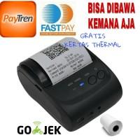 Zjiang Mini Portable Bluetooth Thermal Printer - ZJ-5802