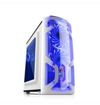 SEGOTEP GAMING CASE POLAR LIGHT WHITE- SIDE WINDOW 1x BLUE FRONT LED