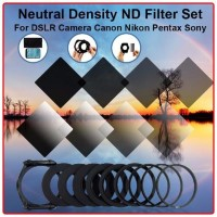 ND Filter Gradasi Graduated Set 9 Metal Adapter Ring, Holder For Cokin