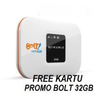 Hot Promo Free 32 GB Modem Mifi Wifi Bolt AQUILA Free Bolt 8GB