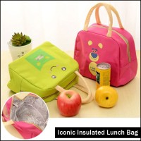 Tas Bekal Makanan Panas Dingin Iconic Insulated Lunch Bag WAJAH KARTUN