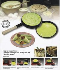 harga Bistro multi creper, pan / wajan terbalik membuat crepes kulit lumpia Tokopedia.com