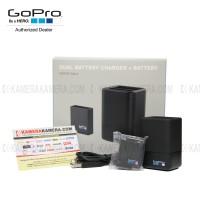 GoPro - Dual Battery Charger + Battery Hero 5 Black (Original)