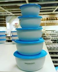 IKEA REDA Tempat Makanan Food Container Isi 5pcs