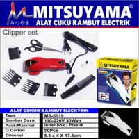 Alat Cukur Rambut Elektrik / Happy King Mitsuyama MS-5019