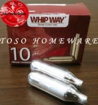 harga Refill whipping charger gas n2o cream dispenser whipway whip way Tokopedia.com