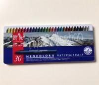ATK0293CR 30 warna Neo 2 Carandache Caran d'ache Karandas Crayon