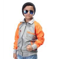 507SKD, Jaket anak laki-laki/cowok, model baseball bahan taslan
