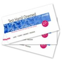 testpack / onemed / alat tes hamil / kehamilan / test / strip