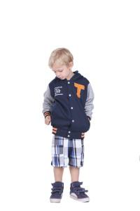 jaket fleece anak model baseball TDLR 'tennessee'
