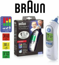 Thermoscan Braun Ear Thermometer IRT 6520
