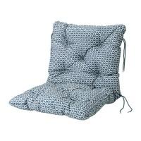 IKEA YTTERON Bantal dudukan/punggung, luar ruang, biru