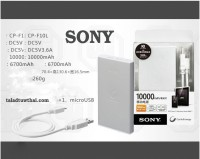 Power Bank SONY CP-10L   10000mAh   Slim ION Battery   OEM GRADE A+