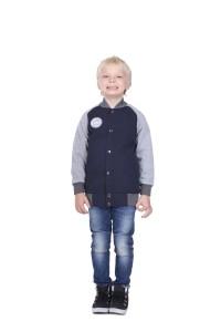 Varsity Navy, sweater hangat, jaket distro anak TDLR Cuteswear, BXAF