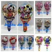 Balon Foil/Balon Pentungan/Balon HandFoil Karakter/Balon Tongkat/36pc