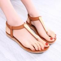 Sandal Wanita Teplek Flat Shoes EMAS JEPIT TP26