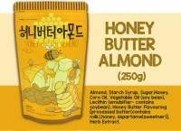 HONEY BUTTER ALMOND 250 GR