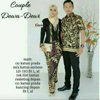 Batik Couple Kebaya / Sarimbit Dewa Dewi Savana Lilit