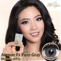 ORIGINAL Softlens Avenue Fx Pure Gray Grey Soflens softlense