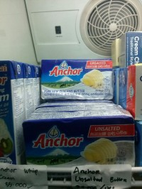 Butter Unsalted ANCHOR - 227 gr only GOSEND
