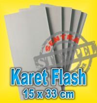Karet Stempel Flash / Bahan Stempel Warna, 12 lbr