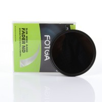 FOTGA 40.5mm - 77mm Slim Fader Variable ND Filter ND2 To ND400
