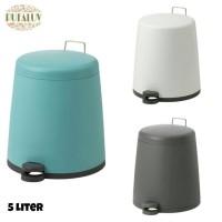 IKEA SNAPP Tempat Sampah / Tong Sampah Berpedal 5 Liter