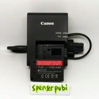 Paket Charger Baterai Canon EOS M3 M5 760D 750D 8000D KISS X8i LP-E17