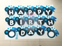 Banner Bunting Flag HBD Birthday Ultah Mickey Minnie