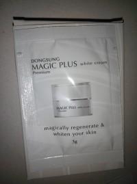 Magic Plus White Cream Lejel Sachet