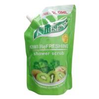 Klinsen Shower Scrub Kiwi Refreshing 500ml