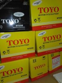 Aki motor ToYo GTZ5S Semua matic dan bebek