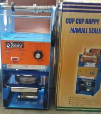 Cup Sealer Manual (alat press gelas plastik ) Merk ETON NANKAI