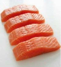 Norwegian Fresh Salmon Fish 200gr / Ikan Salmon Segar 200 gram